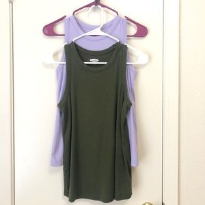 Tank tops from OLD NAVY.
